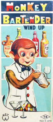 devilduck:  Monkey Bartender Wind-Up