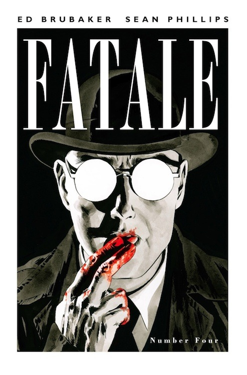 I mentioned a few days ago how awesome Fatale #1 is, but Sean Phillips just turned in the cover for the fourth issue of his new series with Ed Brubaker and… wow. Both of these guys are just getting better and better, and it's just incredible to watch it all take shape.  -e.s.