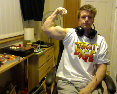 "arm progress current 16inches round, happy with how it's all going…always room to improve.  arms are a main focus for me when training as I feel they're my week point, but I'm currently all ""in proportion"" so I'm happy there   Straight Edge Muscles"