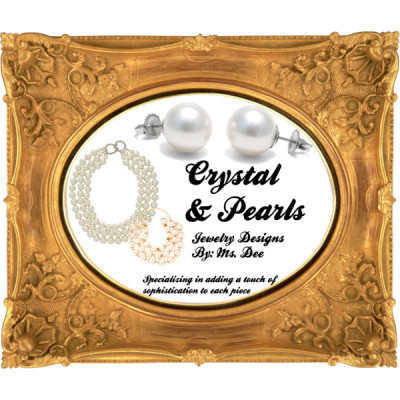Sign Design by demarja featuring pearl jewelry