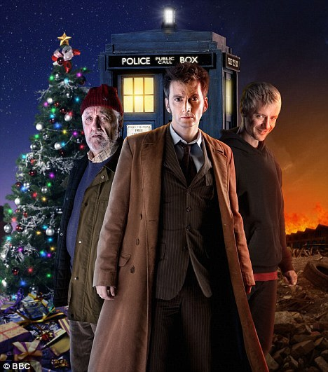 Doctor Who: The End of Time. btw, this and all of the Doctor Who Christmas Specials are airing in a BBC America marathon beginning tonight at midnight EST.