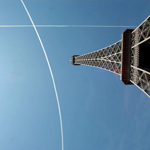 Eiffel tower by kallopeter.hu on Flickr.