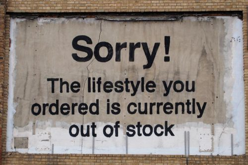 itsaboutinterior:  And another one by him. Street Art by Banksy.