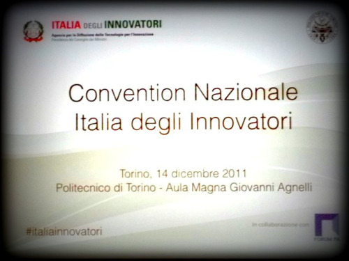#italiainnovatori (on Flickr) Photo taken at Convention Nazionale 'Italia degli Innnovatori' @ Politecnico di Torino Barbara R. S.
