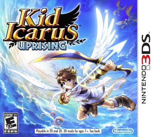 Kid Icarus Uprising Boxart Coming out March 23, 2012.