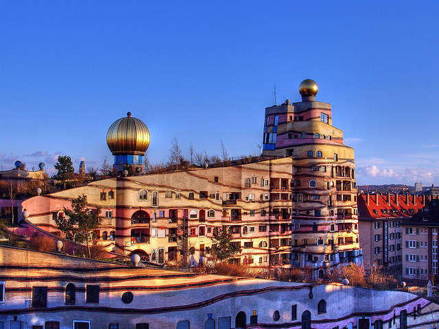 "Hundertwasserhaus ""Waldspirale"" in Darmstadt on Flickr.Just because Google said, it's his 83rd birthday…"