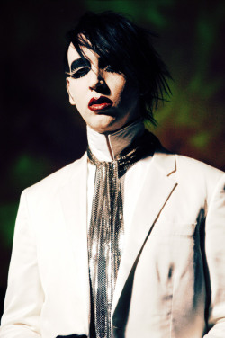 I love this man. <3 Marilyn Manson