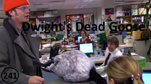 Great Things About The Office - #241 - Dwight's Dead Goose