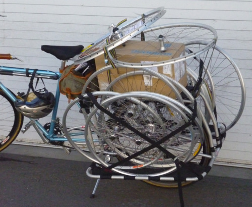 It's important to carry spares while on a bike tour…  [via TumblCat]