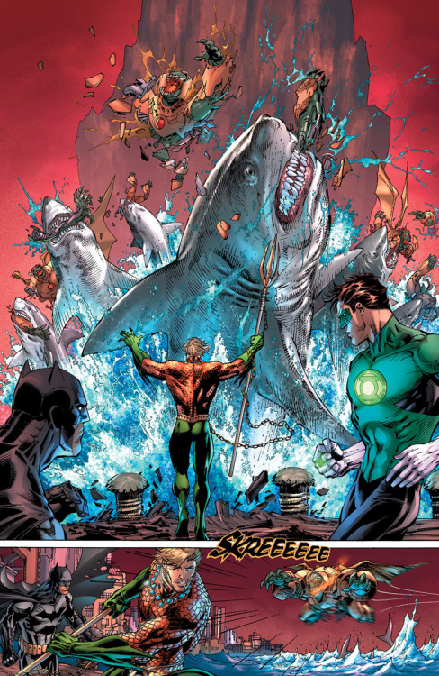 Aquaman is a badass.  He doesn't talk to fish.