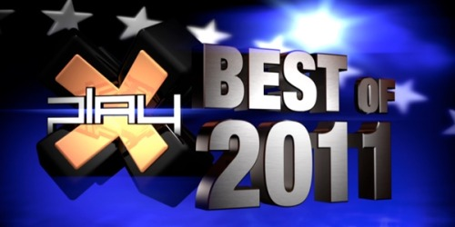 Welcome to X-Plays Best of 2011 Awards. The end of the year means different things to different people. To us, it means that we get to pass judgments upon video games.Game of the Year? Check. Best Action Adventure Game? Check. Best performance not by Nolan North? Triple Check.  And the Game of The Year is….Drum Roll…Please…. Skyrim!!! For the entire list of the Best of the Year 2011 awards stop by G4TV.