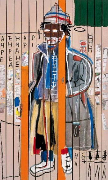 basquiatswag:  Jean-Michel Basquiat- Anthony Clarke 1985