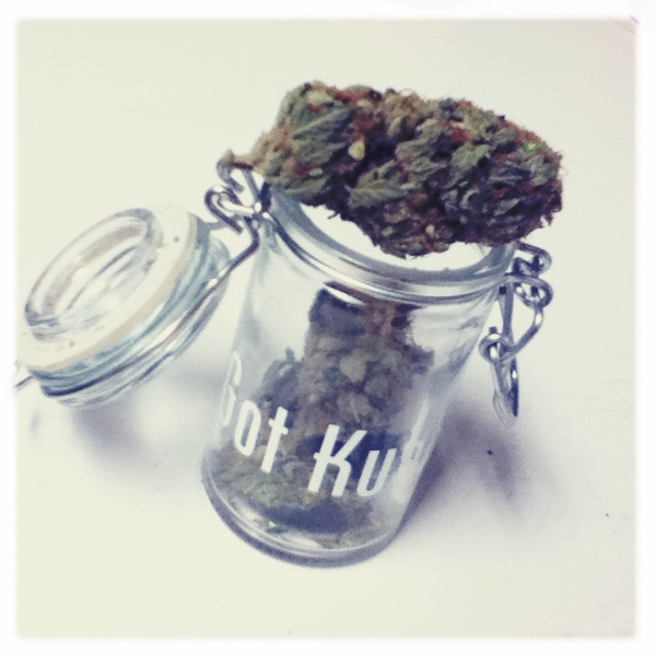 alicasanova:  Got Kush?   I love my little jar