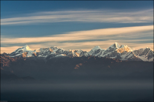 Nagarkot Sunrise, Nepal by Souvik_Prometure on Flickr.