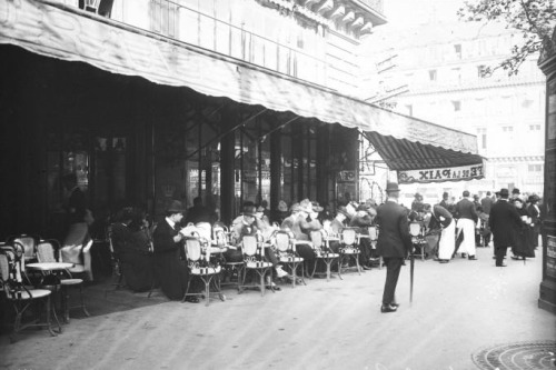 Café de la Paix, Paris c.1911 (Bibliothèque nationale de France)