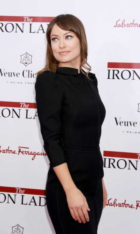 "Olivia Wilde at the New York Premiere of ""the Iron Lady"" - December 13 2011"