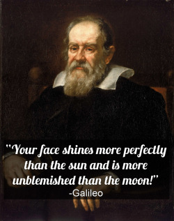 "While Galileo Galilei (1564-1642) did not invent the telescope, he built one that allowed him to discover, among many other things, that there were craters on the moon and spots on the sun. This was significant because it went against the idea of a ""perfect universe"" and showed that we knew relatively little—even about the celestial objects most visible to us on Earth. -JC"