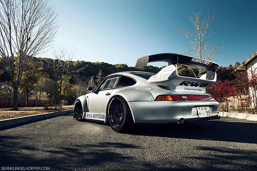 "automotivated:  Nakai's ""Royal Montegobay"" RAUH-Welt 993 Porsche 911 (by Nike SB'd)"