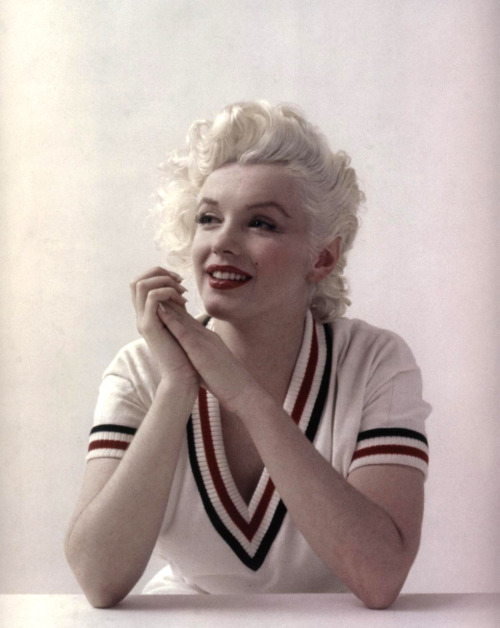 bohemea:  Marilyn Monroe by Milton Greene, February 1955