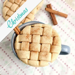 Eggnog Cut-Out and Lattice Sugar Cookies