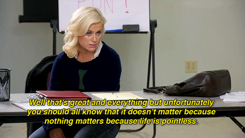 wonderpunch:  in which Leslie Knope is actually me
