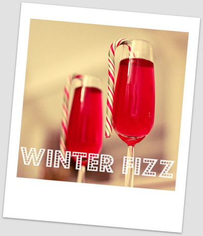 winter fizz cocktail by PeaSoupEats on Flickr.Sip!