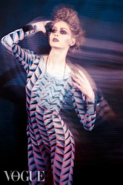 Paris @ Giant Management  - VOGUE italia  - [BD] Boudicca Designs, Lin Campbell  *GEOMETRIKA*