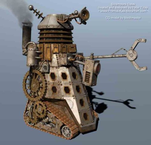 doctormonocle:  Steampunk Dalek | The Last Goddess Magazine