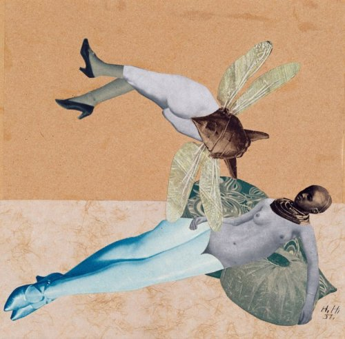 Hannah Höch , Love, 1931 [also] from ′The mad square: Modernity in German Art 1910 – 37′ at The National Gallery of Victoria, Melbourne [25th November 2011 – 4th March 2012] thanks to Art Blart