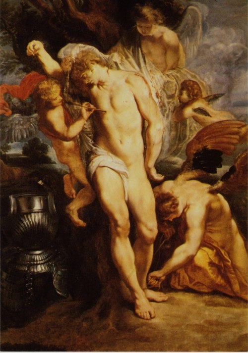 Peter Paul Rubens St. Sebastian Healed By Angels