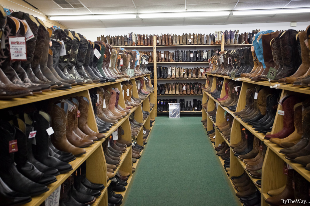 The boot store - Jackson Hole, Wyoming - USA
