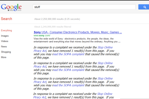 Google 2012 #SOPA via epic4chan:  Google 2012  画