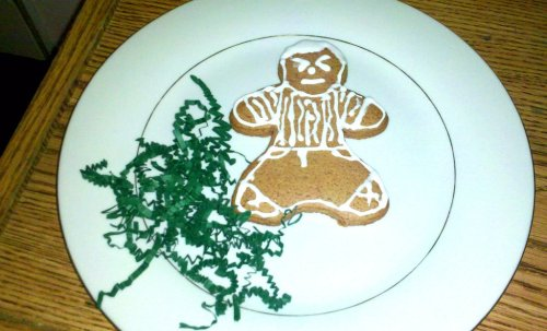 Gingerbread Martin Freeman does not approve of people invading his boyfriend's privacy!