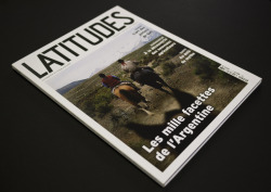 Latitudes, the fair travel magazineLogo, magazine's layout, print ad, web advert, POS.