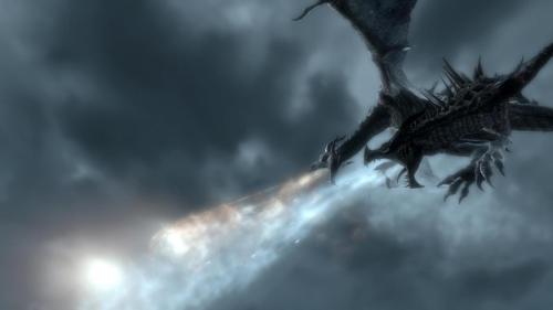 Dragons make Skyrim special.