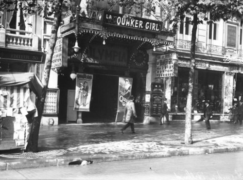 Paris Olympia, Boulevard des Capucines, 1913 (Bibliothèque nationale de France)