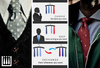 Like Netflix (and Neckflix), but for ties