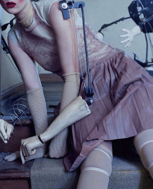 pylore:  Audrey Marnay in Mechanical Dolls by Tim Walker for Vogue Italia October 2011