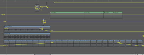 This shows the automation of amplitude (and in one case panning) that I used in the mix. The automation was to make sure I got desired sounds to punch through the mix at certain points, allowing and creating tension. (Use of minor/major chords also helped in this effect). (Amplitude is in reference to tutorial 6) -Colin Bunyan, Dec 15th 2011, LMU Headingley-