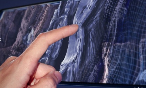 Imagine Feeling Texture On Your Touchscreen | via: The Creators Project)