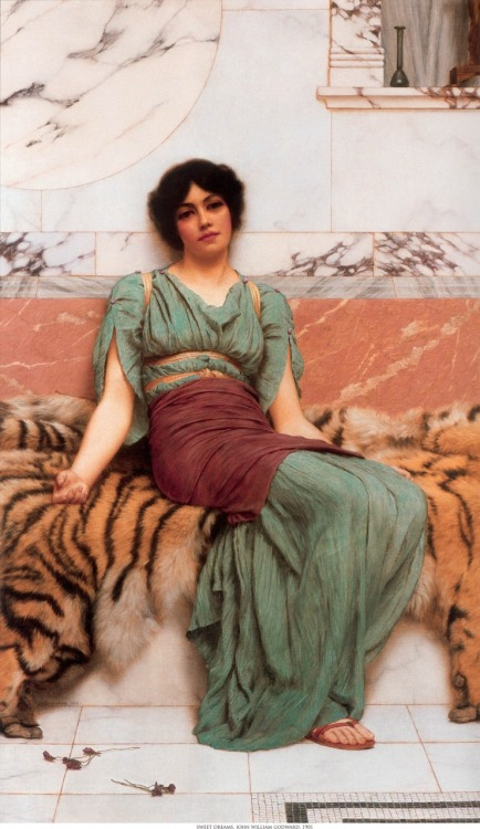 John William Godward captures true beauty.