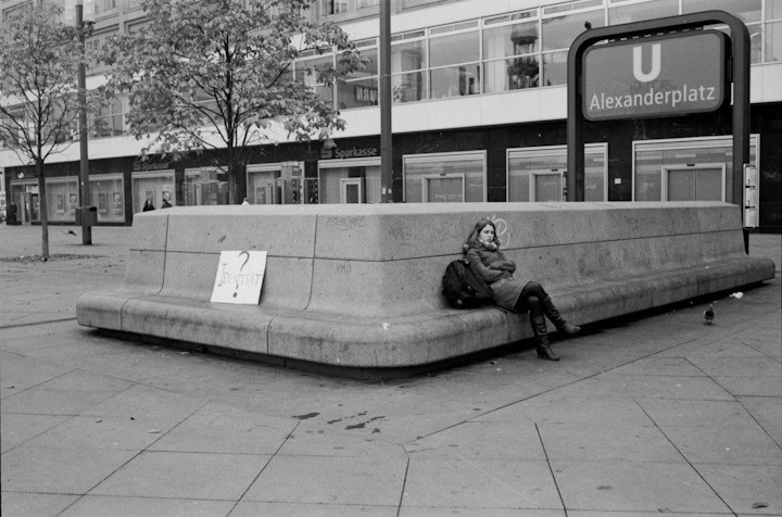 Alex, Berlin, November 2011 // Tri-X in Xtol