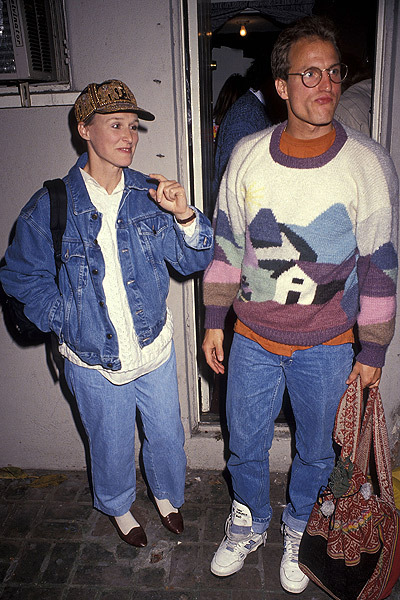 Glenn Close & Woody Harrelson