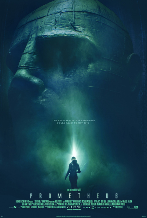 PROMETHEUS  One-Sheet….speechless.