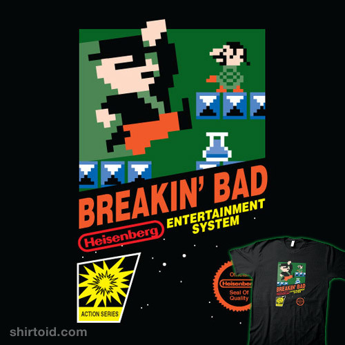 shirtoid:  Breakin' Bad available at RedBubble