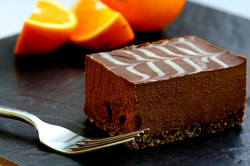 ffoodd:  Chocolate & Orange Tavoletta (by therawchef)