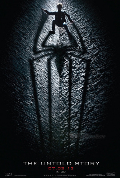 nevver:  The Amazing Spider-Man Movie Poster
