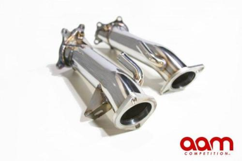 "AAM Competition 3"" Catless Non-Resonated Downpipes — Now available at Ultrarev."