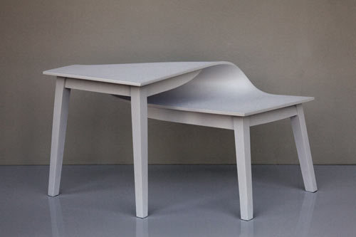 knarcollective:  'contortions' table by suzy lelievre
