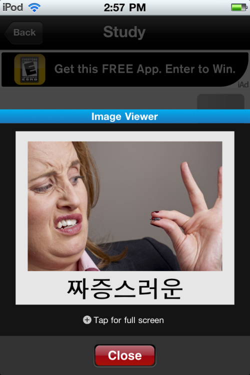 "Lol the picture for ""annoying"" Woooooow……"
